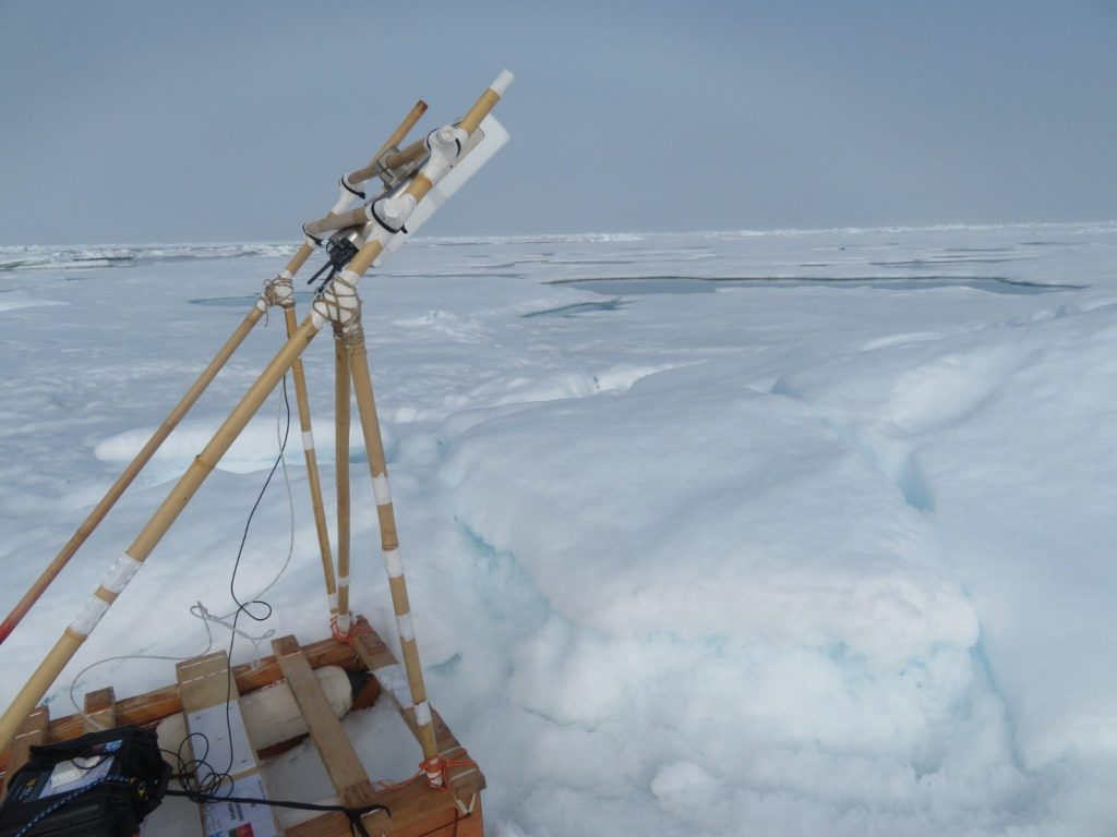 ARIEL microwave radiometer se ice thickness retrieval